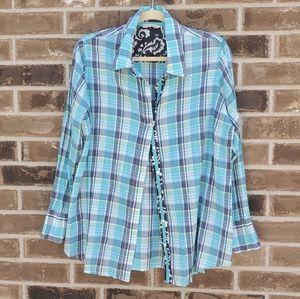 NWOT Soft Surroundings shirt, blouse , M